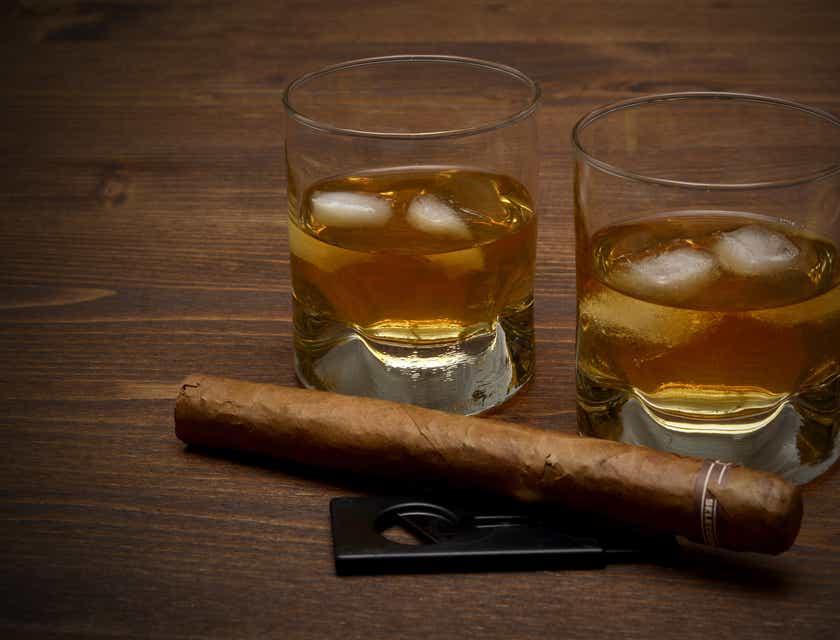 Firmennamen für Zigarren-Lounges