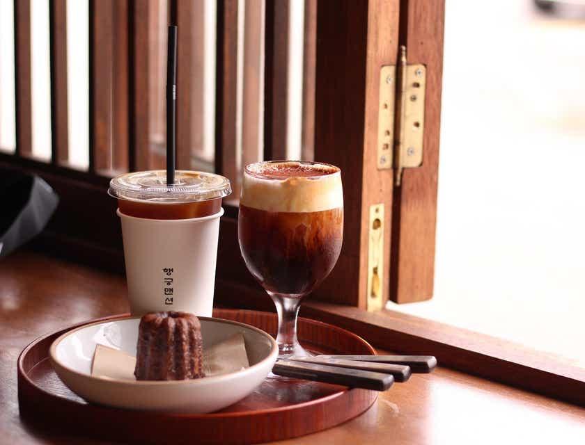 Nombres para cafeterías coreanas