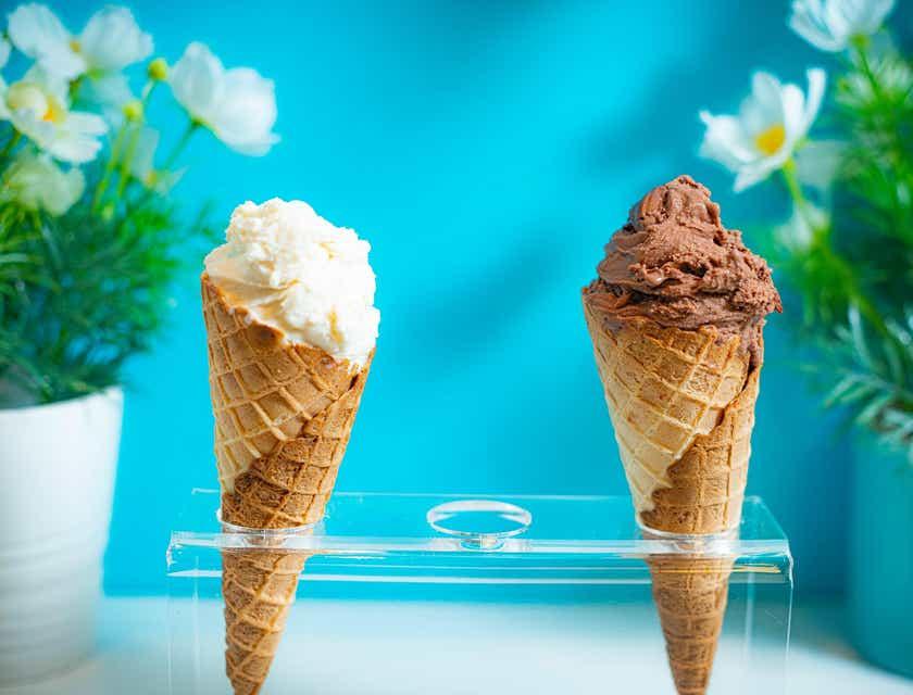 Nombres para heladerías