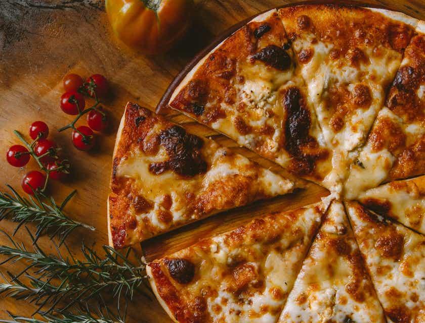 Nombres para negocios de pizzas estilo Nueva York