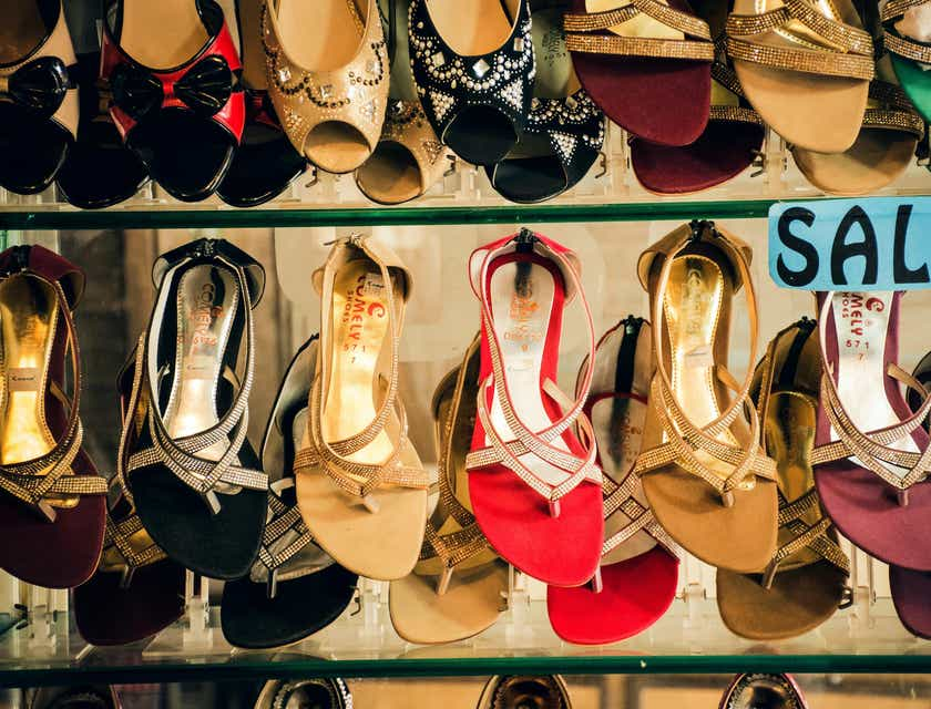 Nomes para lojas de calçados