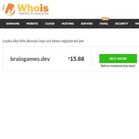 Buy the domain name.