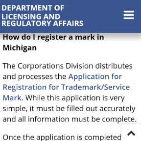 Consider trademarking your business name.