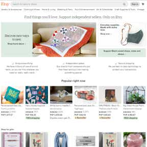Create an Etsy store.