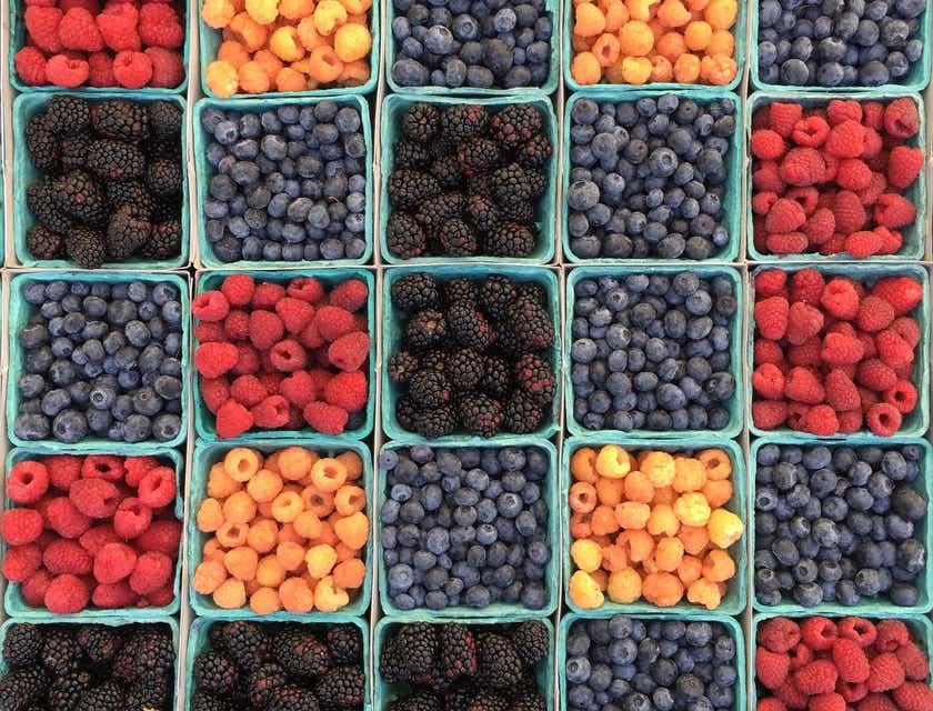 Nombres para negocios de frutos rojos