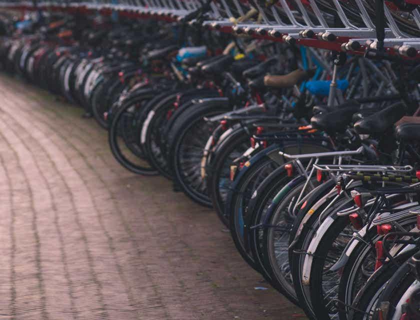 Bike Parking Business Names