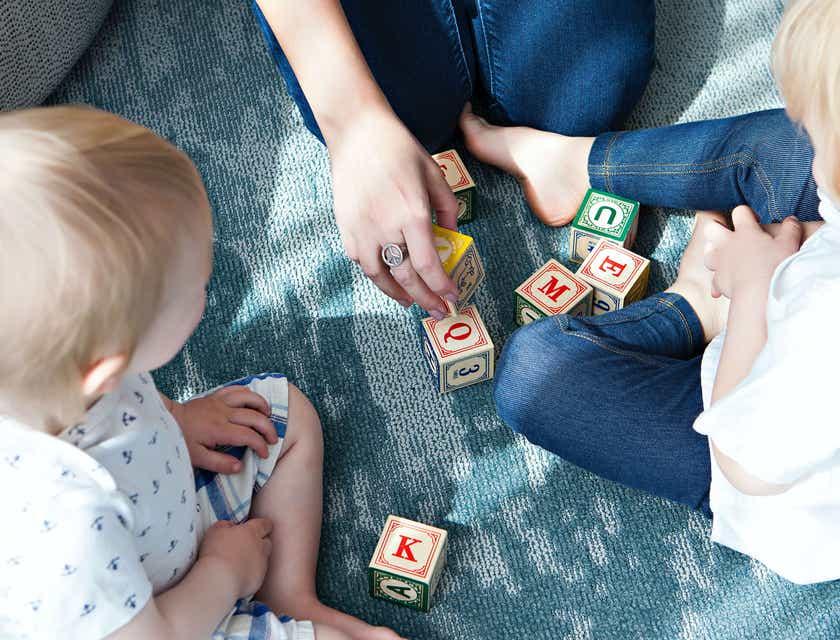 Nomes para serviços de cuidador de crianças
