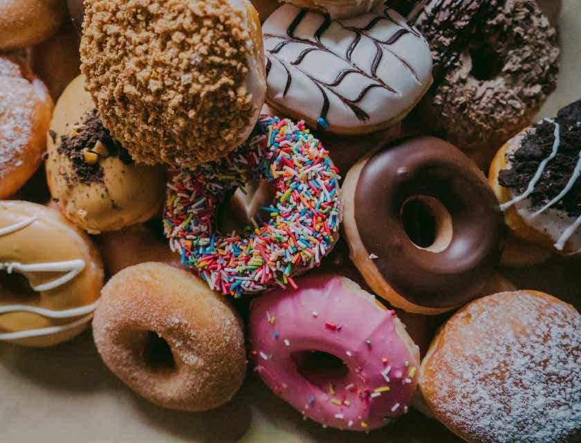 Nomes para lojas de donuts