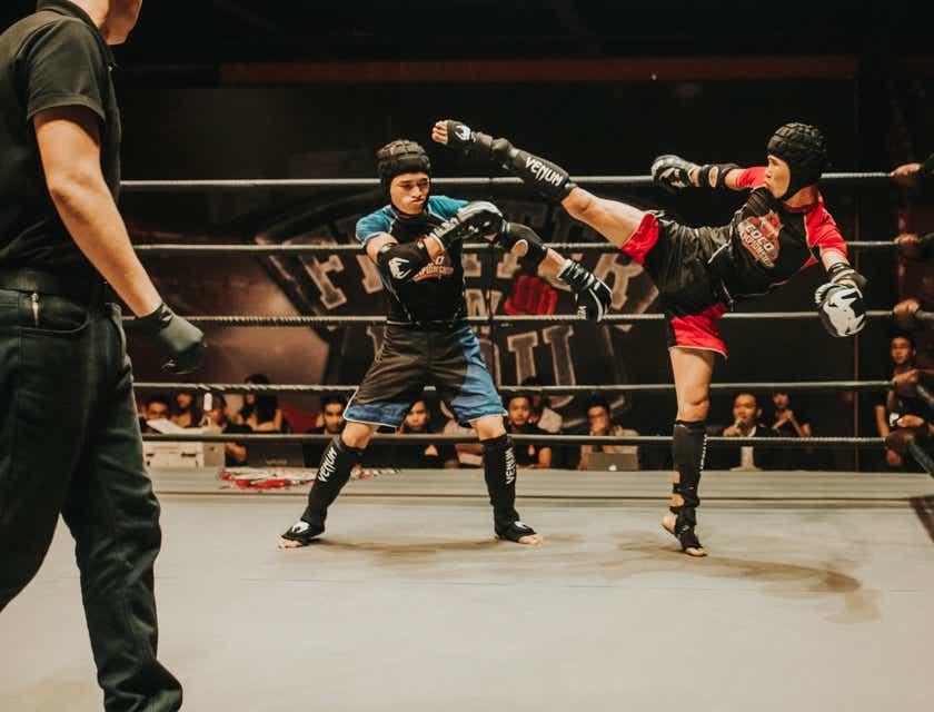 Nomes para academias de kickboxing