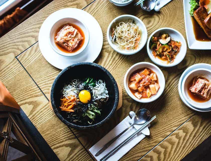 Nombres para empresas de comida coreana