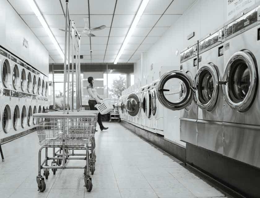 Nombres para lavamáticas