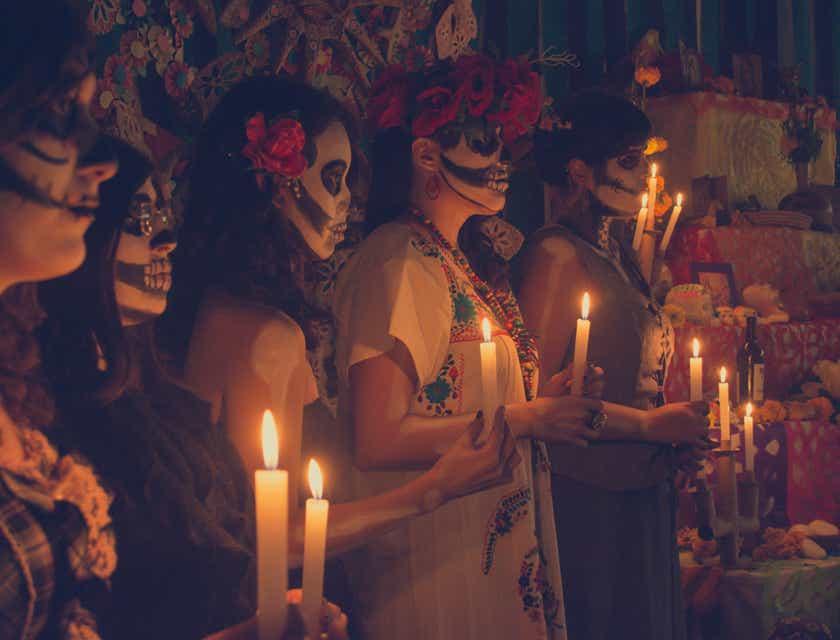Nombres para negocios de Día de Muertos