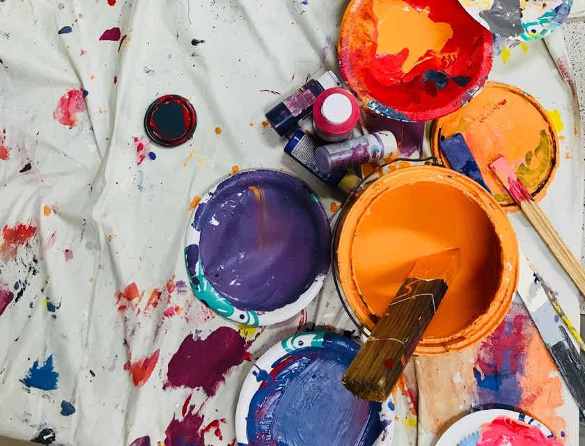 Nombres para taller de pintura