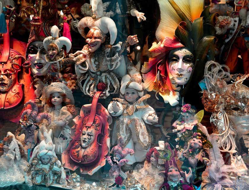 Nombres para tiendas de máscaras de Tigua