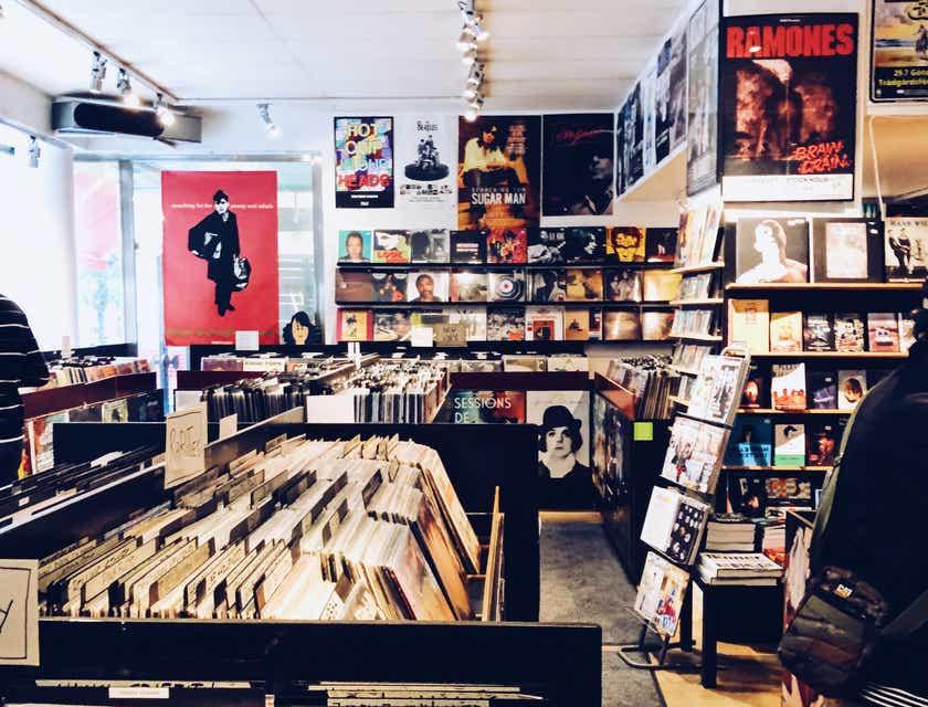 Nombres para tiendas de música