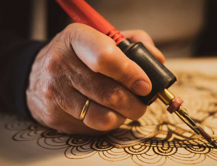 Pyrography Business Names
