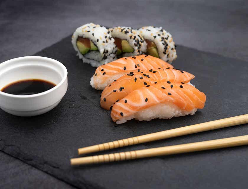 Nomes para sushi bar