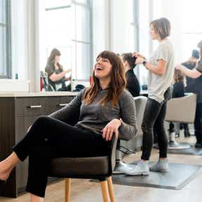 Think about how you want clients to experience your salon.
