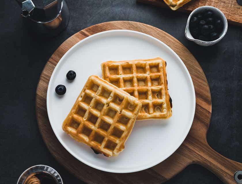 Nomes para restaurantes de waffles