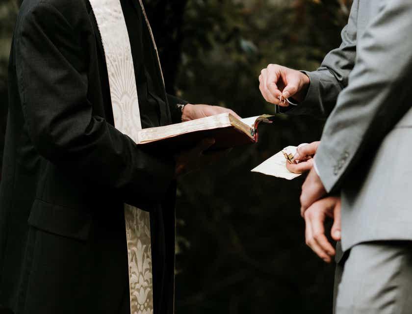 Nombres para empresas de oficiantes de bodas