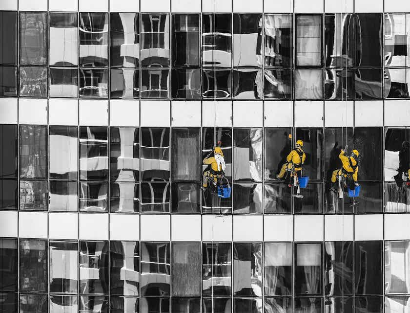 Firmennamen für Fensterputzer