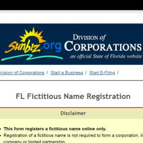 Register the business name with the state.
