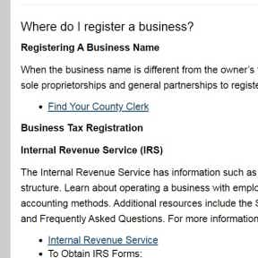 Register the name with the state.