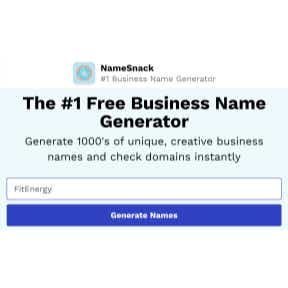 Use a name generator.
